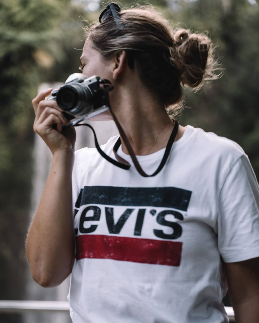 white girls levis t-shirt de Les Bourgeoises sur beatarasiuk
