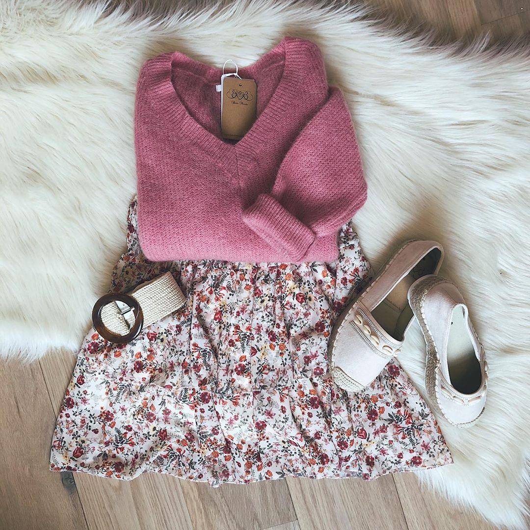 pull rose clair de Les Bourgeoises sur beaumonde.fashion
