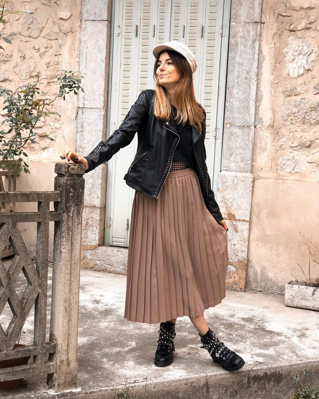 leather boots with jewellery de Zara sur valentorya
