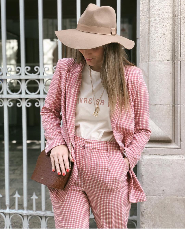 gingham plaid pants de Zara sur zaraaddiction