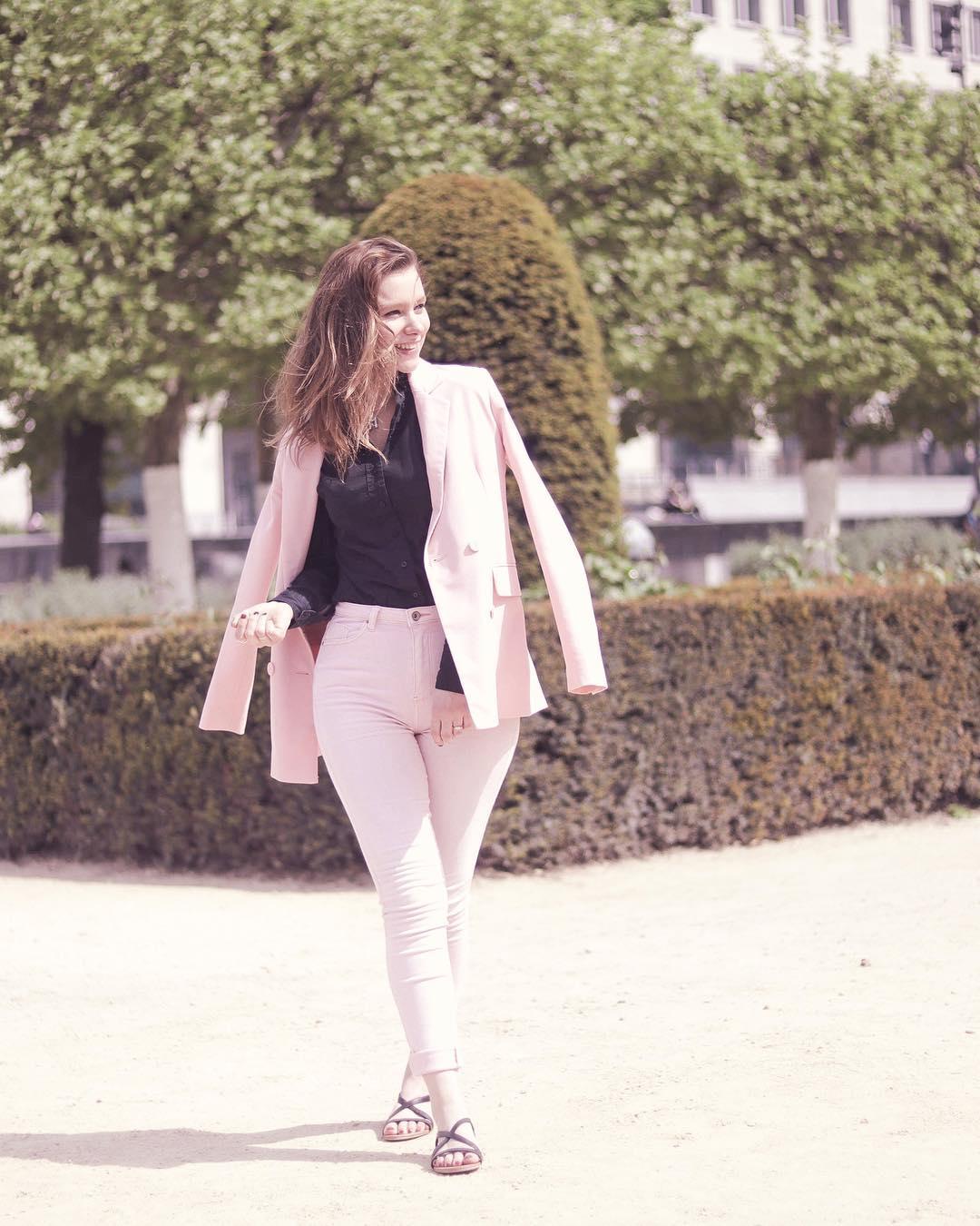 jeans toxic blanc de Les Bourgeoises sur _mangoo_tangoo_