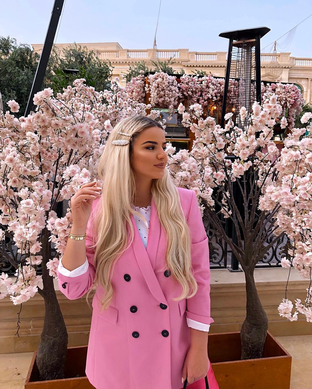 crossover breasted jacket de Zara sur besianazogu