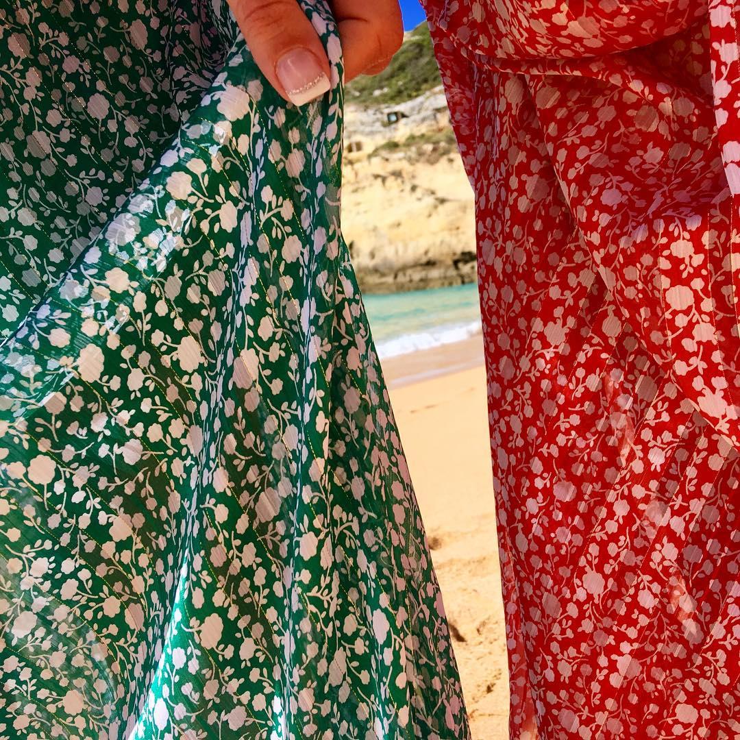 longue robe corail jenny de Les Bourgeoises sur poupeepoudree