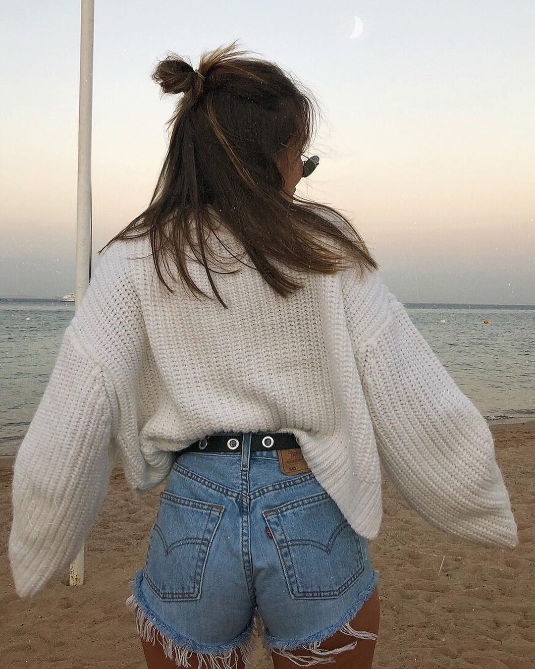 short levis 501 jeans light blue side pulls  de les bourgeoises sur minnahigh