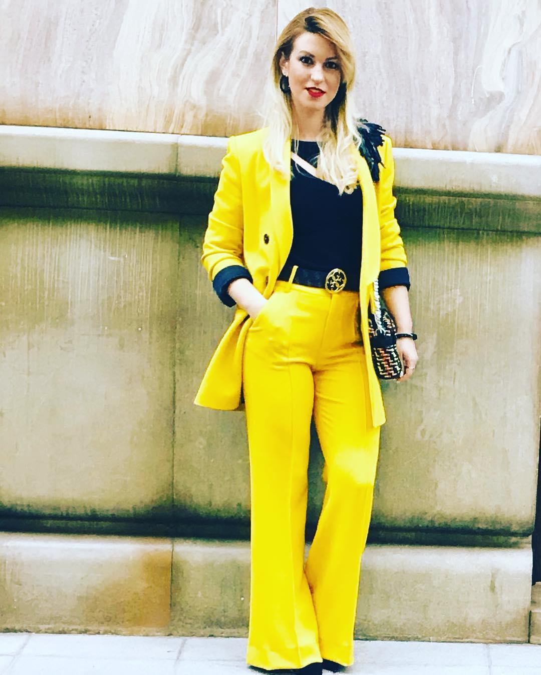 veste à boutonnage croisé de Zara sur lady_misslim