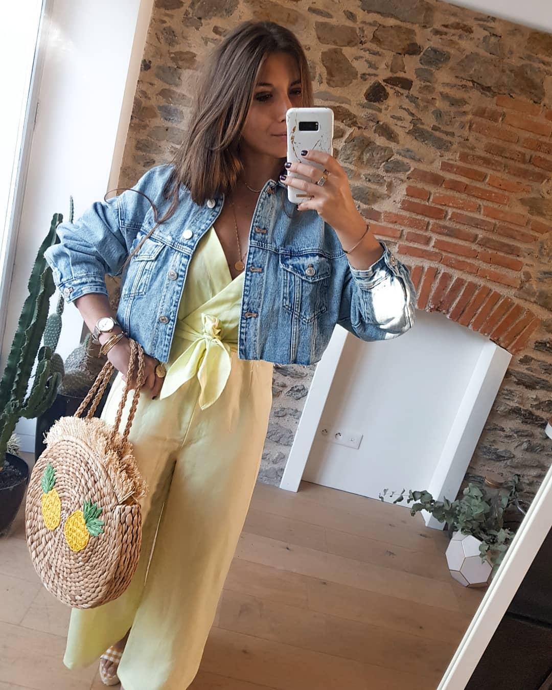 jumpsuit with straps with bow de Zara sur johanna_stayyourself