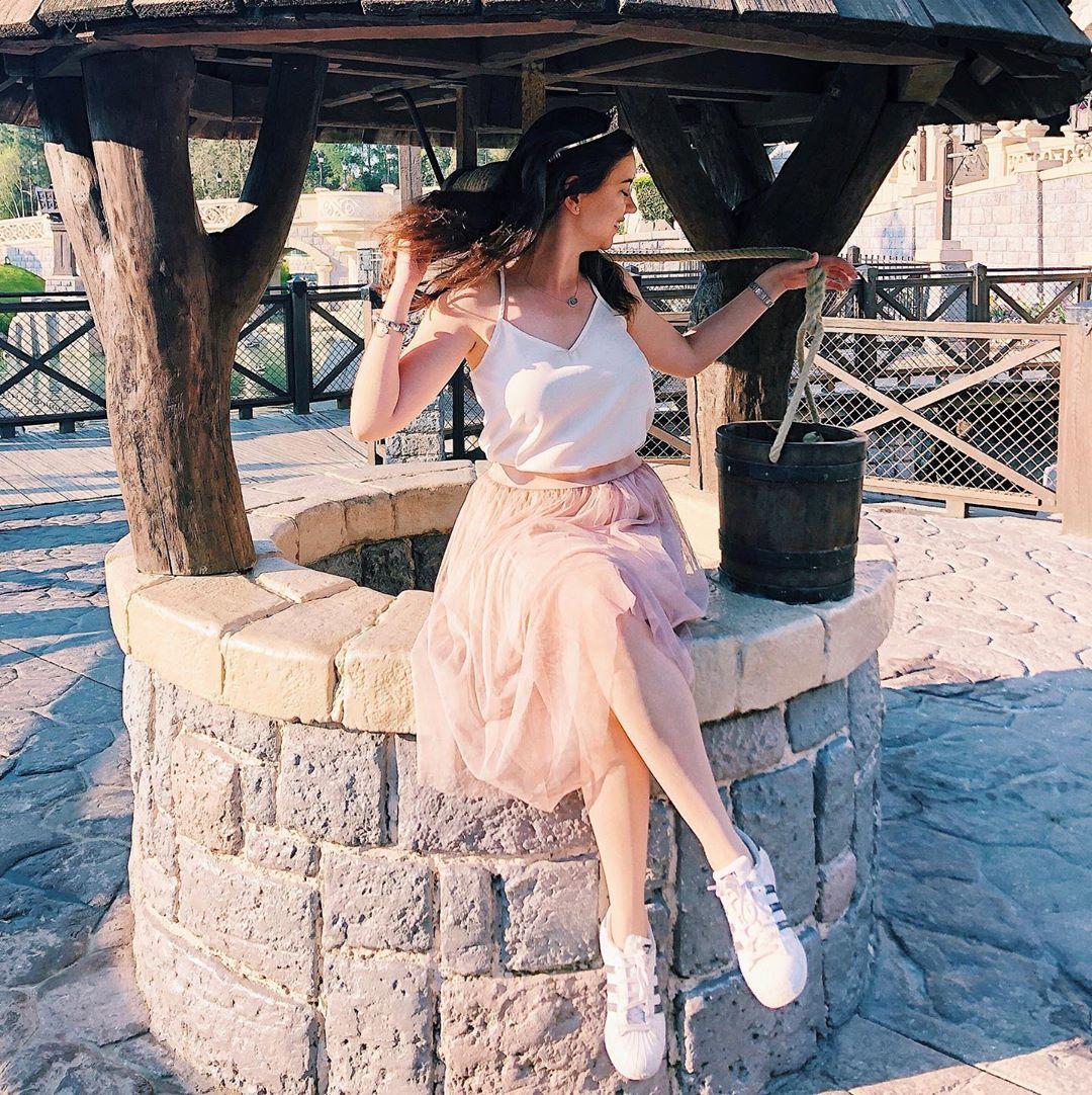 powder tulle skirt de Les Bourgeoises sur rebecca_in_disneyparks