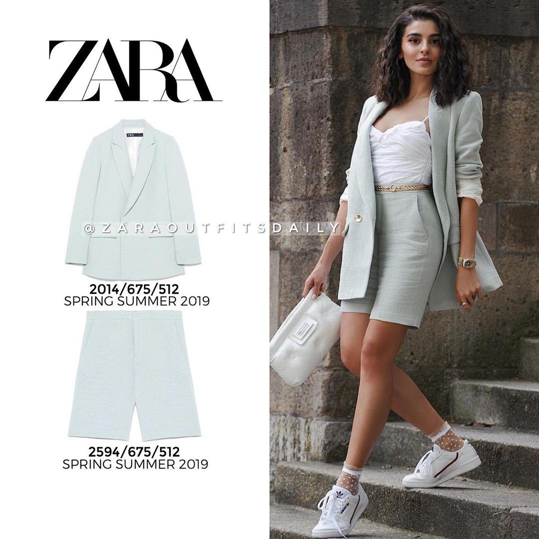 structured jacket de Zara sur zaraoutfitsdaily