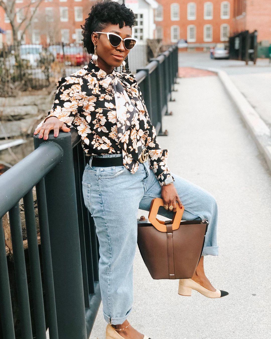 rigid shopper bag with wooden handle de Zara sur versatilefashionista