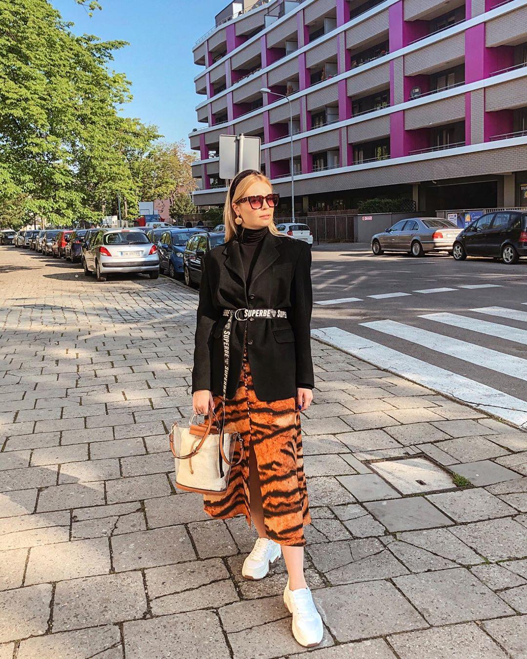 sac shopper en vinyle de Zara sur lawirantka