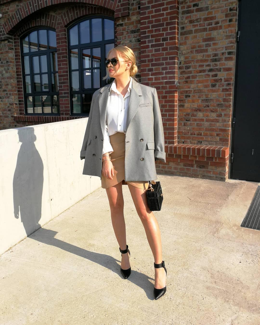 plaid jacket de Zara sur heymissangel