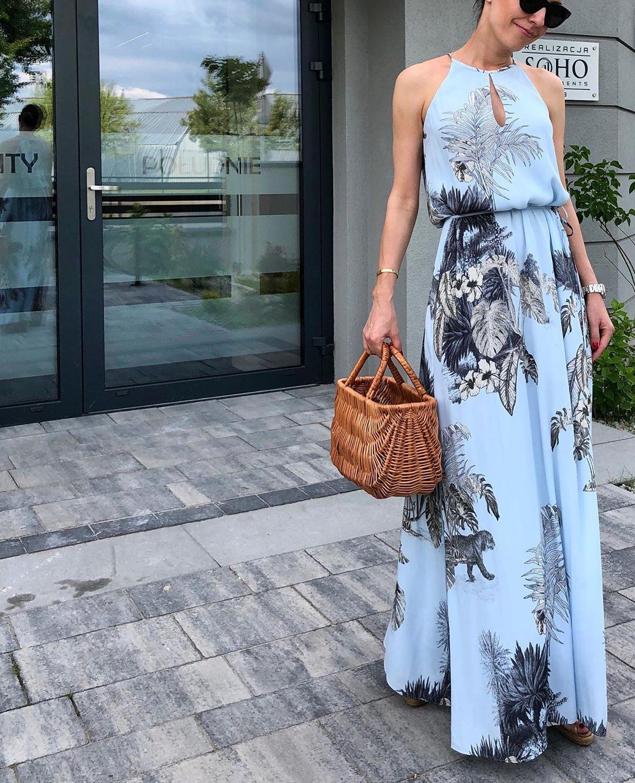 floral tie dress de Massimo Dutti sur alwaysmissfancypants