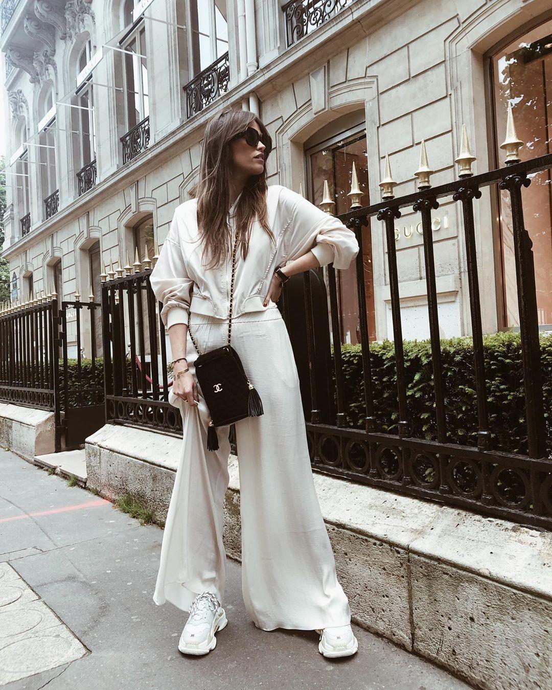 pantalon large fluide de Zara sur alisontoby