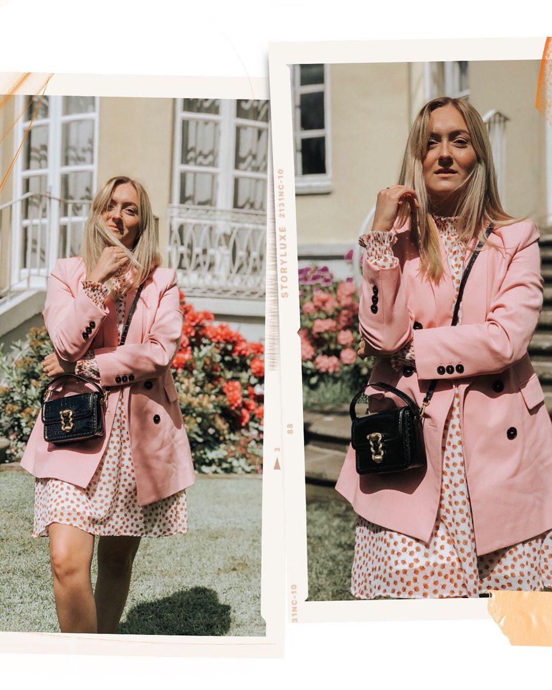 crossover breasted jacket de Zara sur finjasophiie sur SCANDALOOK