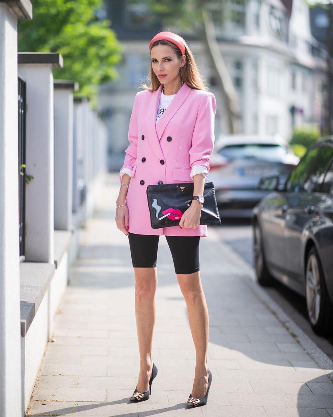 veste à boutonnage croisé de Zara sur alexandralapp_