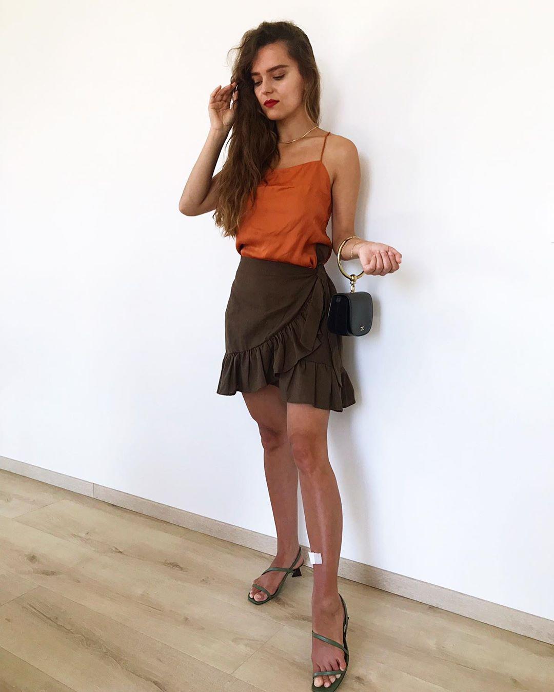 sandales à brides de Zara sur paulagurazda
