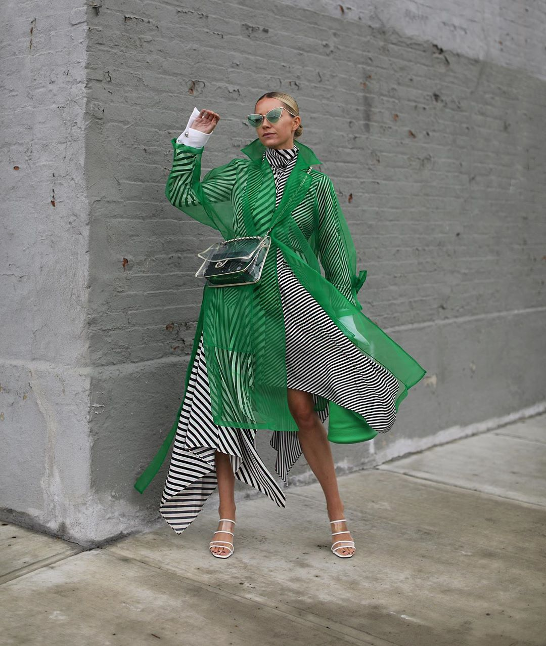 organza trench coat de Zara sur blaireadiebee