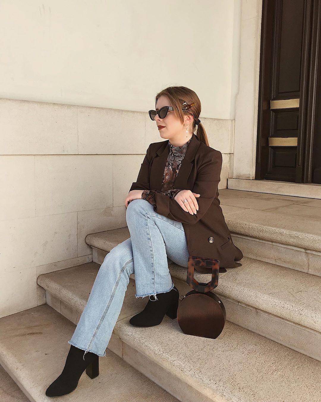 wooden handbag de Zara sur margarigues