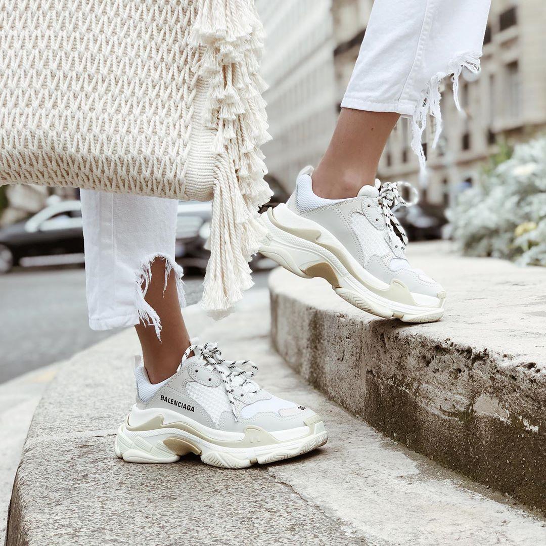 sac shopper en toile à franges de Zara sur alisontoby