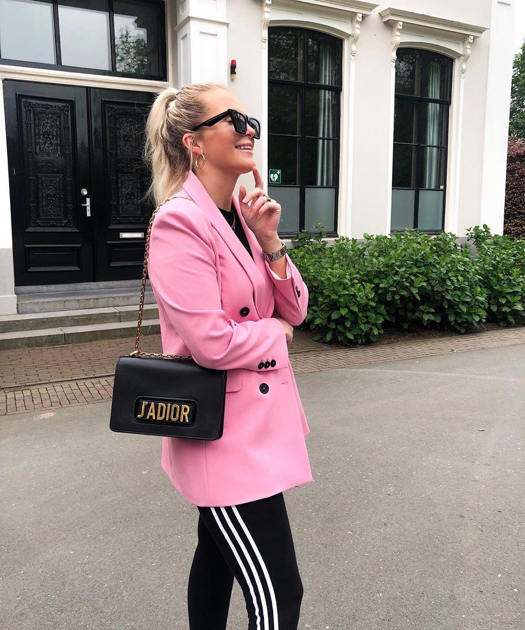 crossover breasted jacket de Zara sur looksofkim