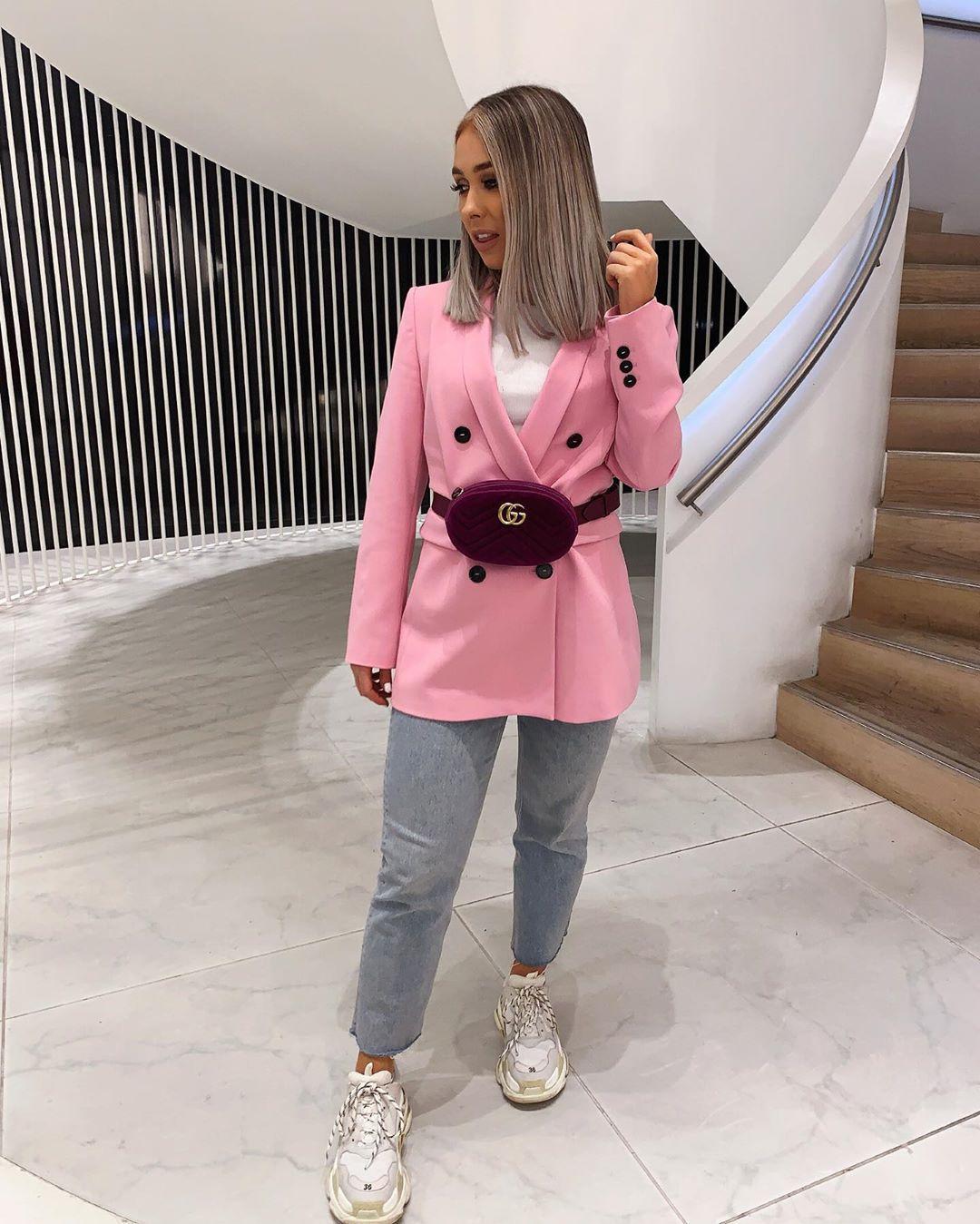 crossover breasted jacket de Zara sur nataliakurda