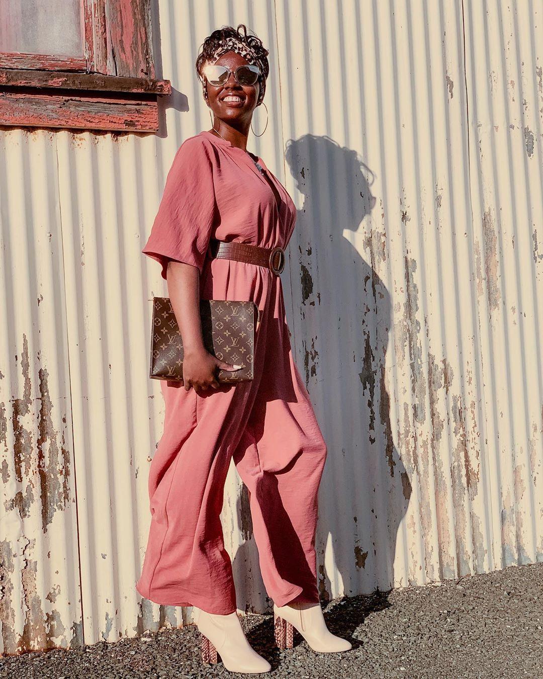 wrap jumpsuit with belt de Zara sur cocoabutterdiaries