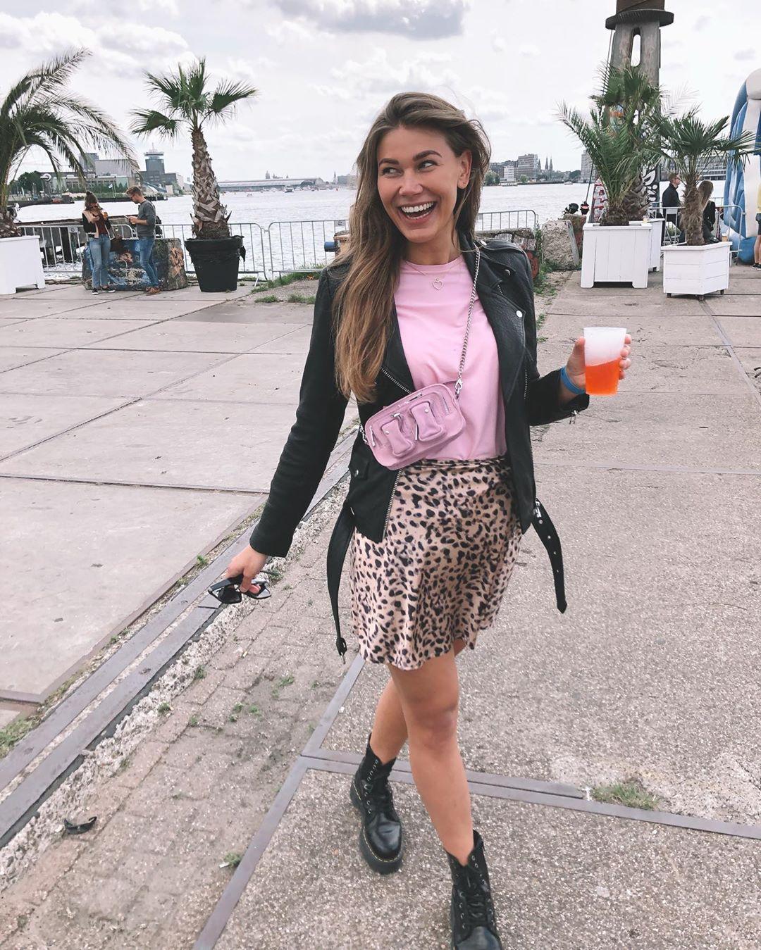 veste de motard en cuir de Zara sur noahfleur