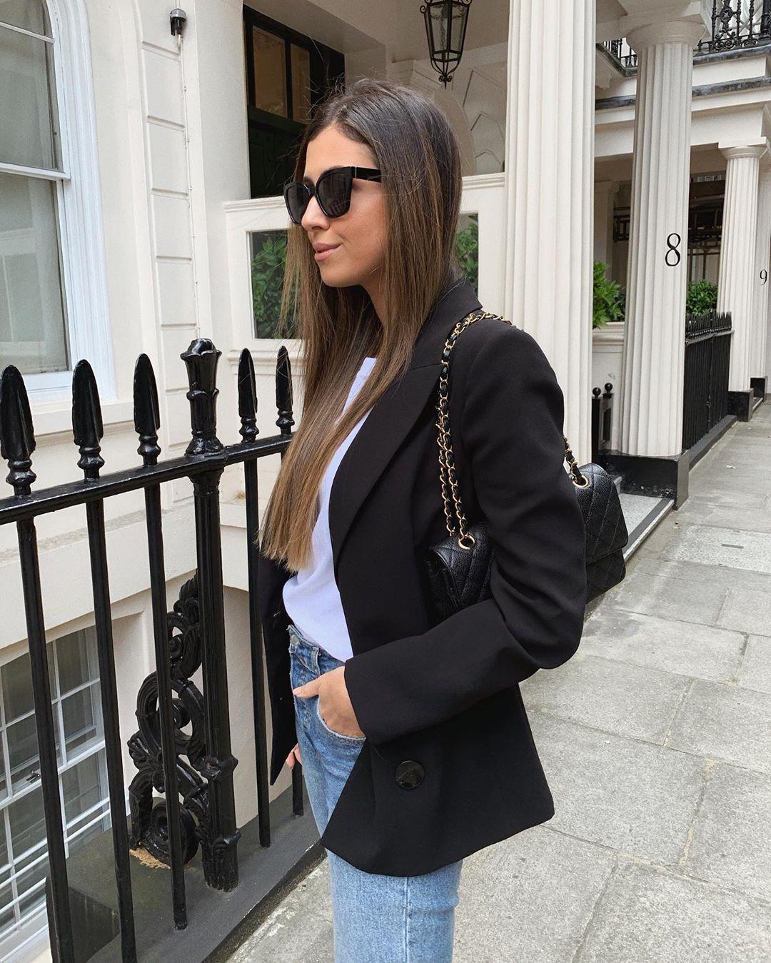 crossover breasted jacket de Zara sur mystylebook