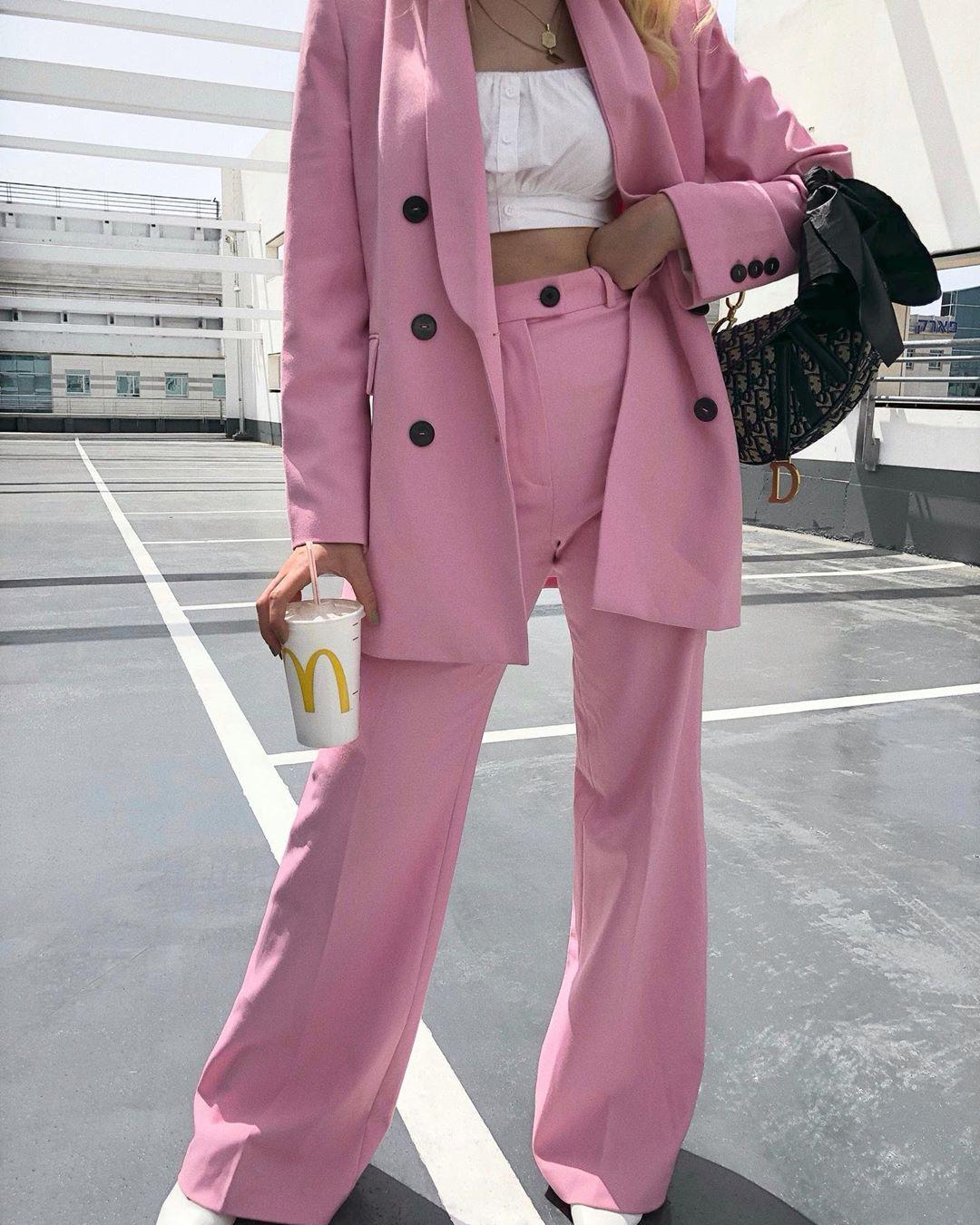 straight pants de Zara sur _maydery_