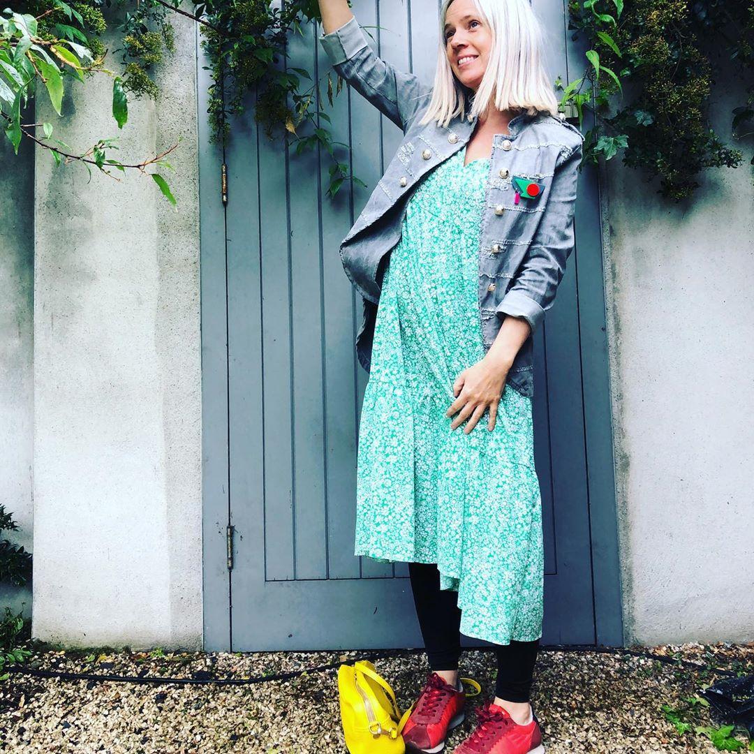 robe à imprimé fleuri de Zara sur thestylecoop