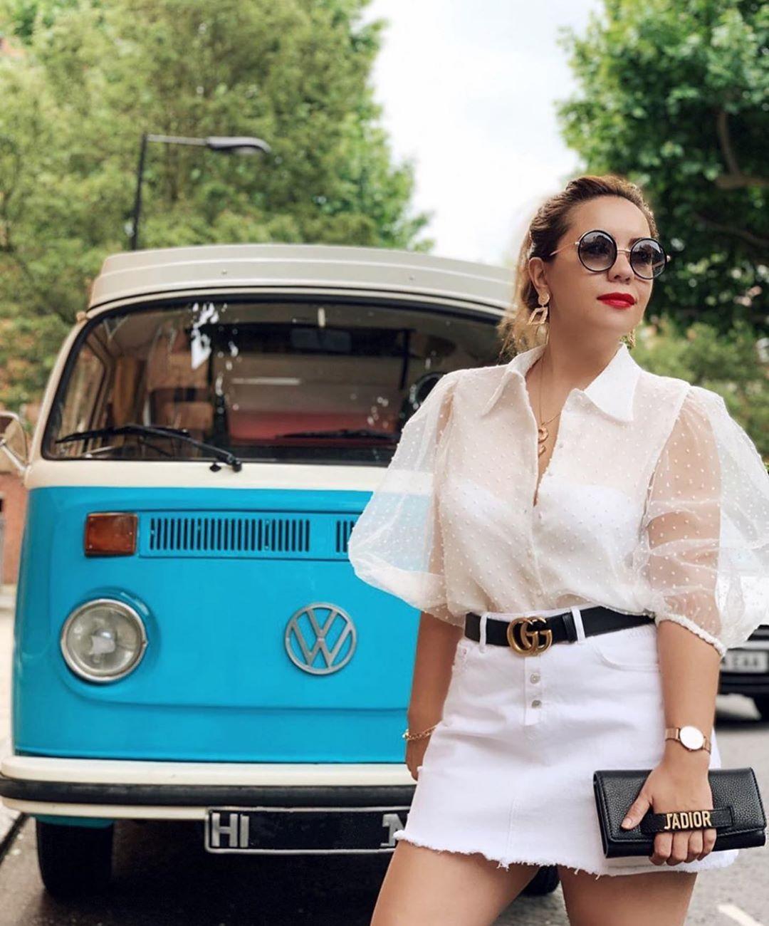 blouse semi-transparente en plumetis de Zara sur zara.mania