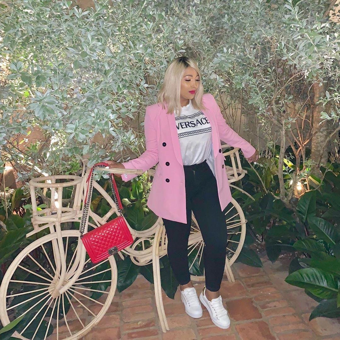 veste à boutonnage croisé de Zara sur aracelis_normahair