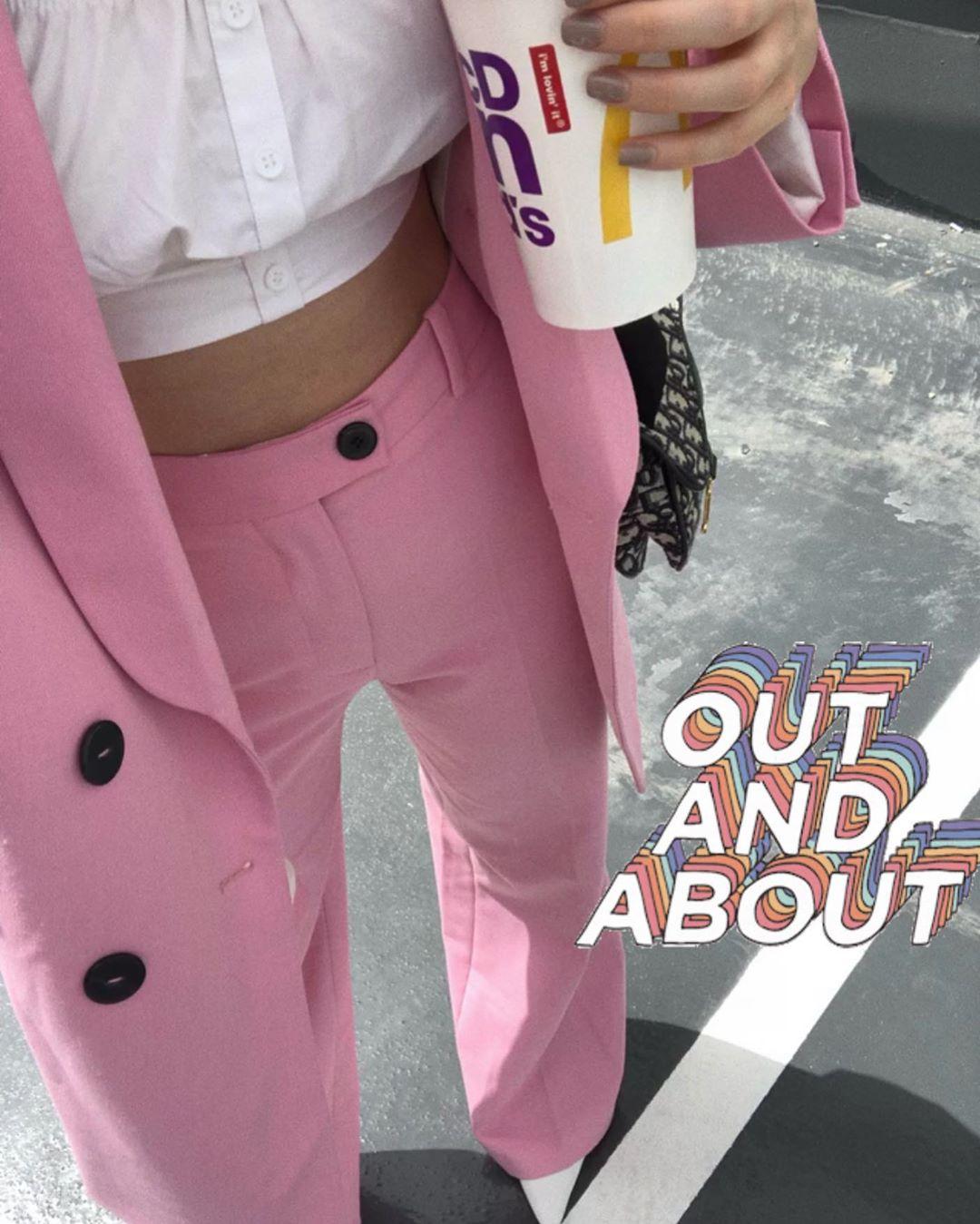 crossover breasted jacket de Zara sur _maydery_