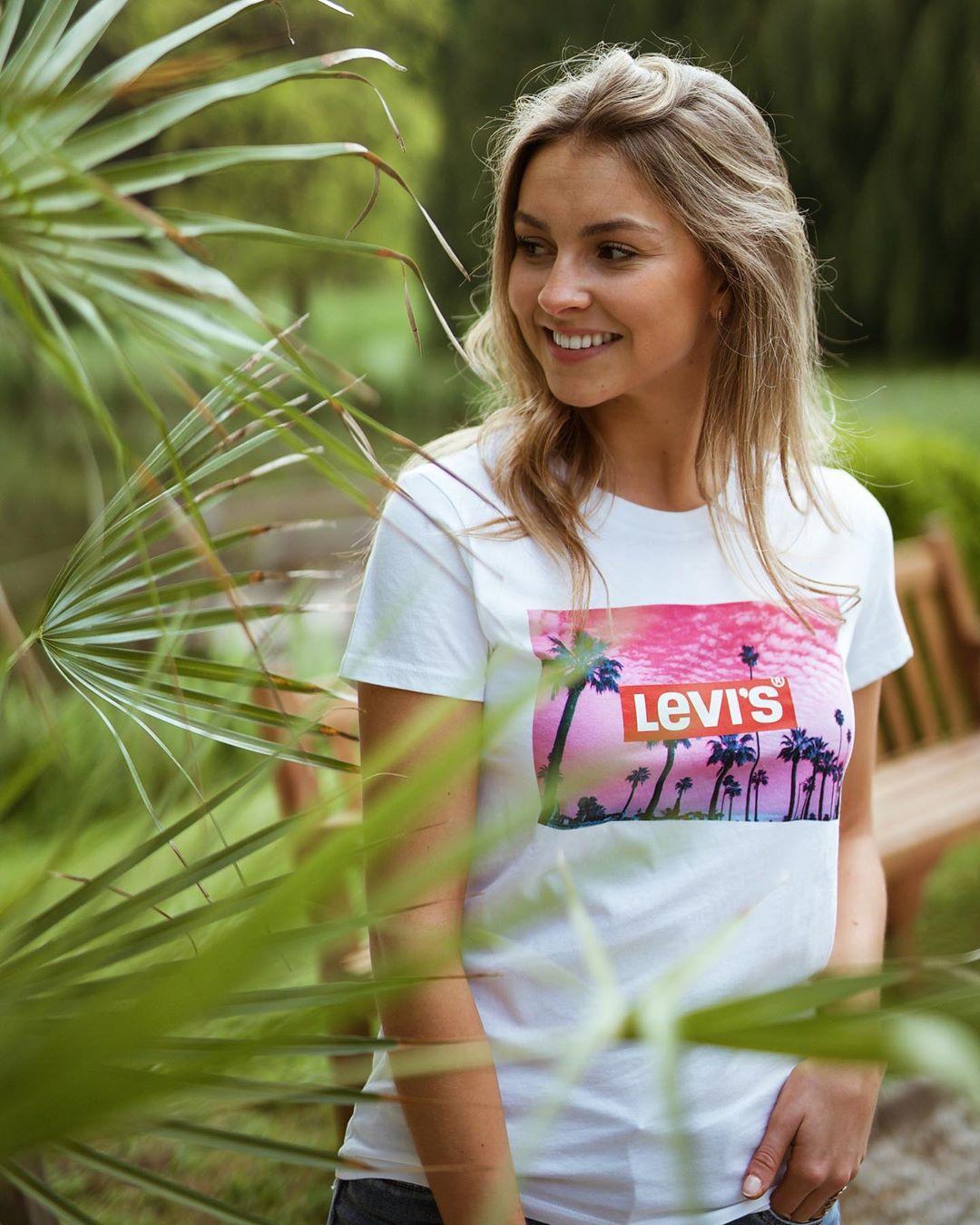 t-shirt tropique levis de Les Bourgeoises sur lesbourgeoisesofficiel