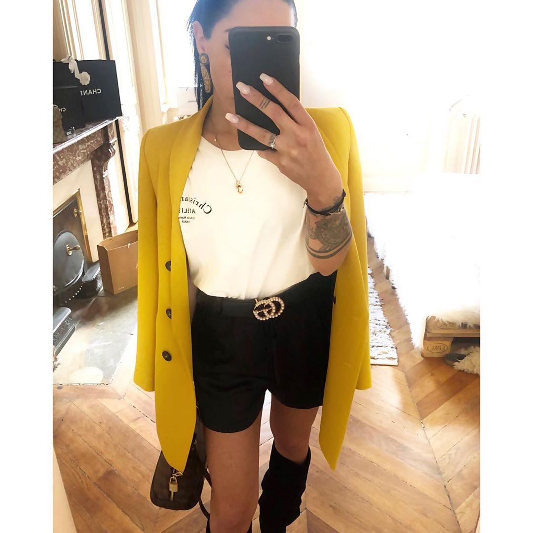 veste à boutonnage croisé de Zara sur i_luvlily