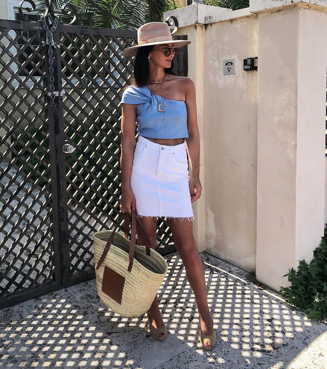 asymmetrical bow top de Zara sur missmondo