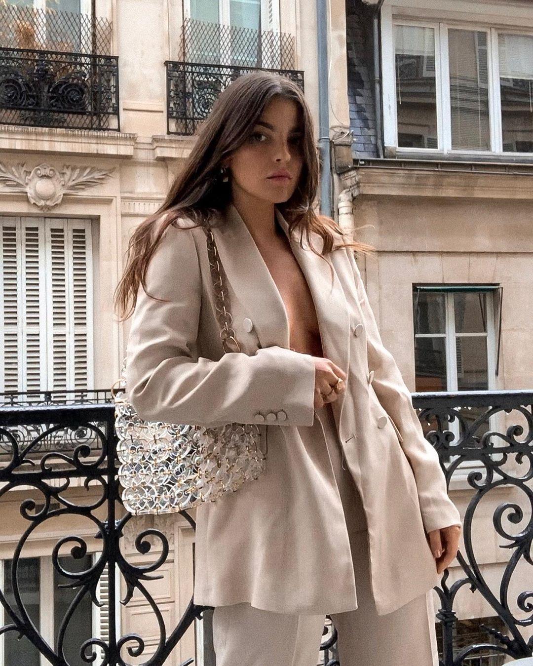 crossover blazer with one button de Zara sur entre_dois sur SCANDALOOK