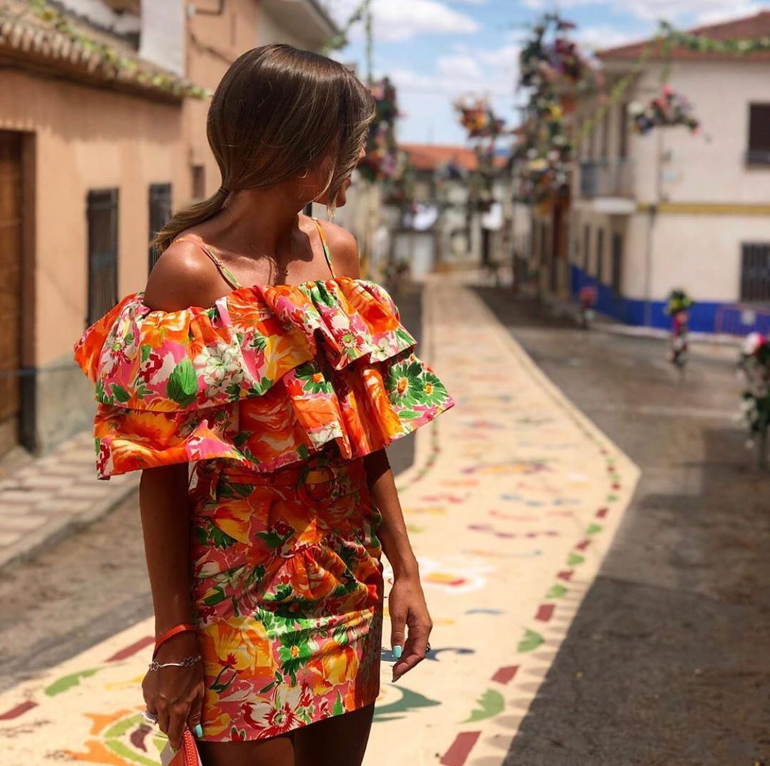 top imprimé édition limitée de Zara sur zara.outfits