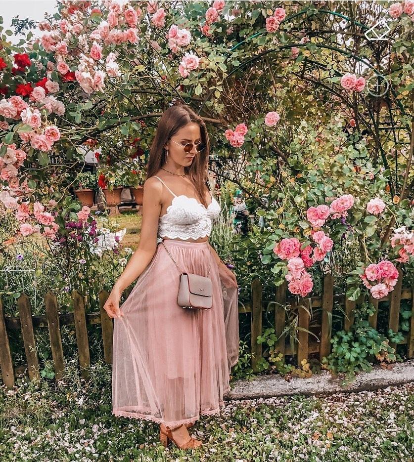 top en dentelle de Zara sur pozytywnie_naszkicowana