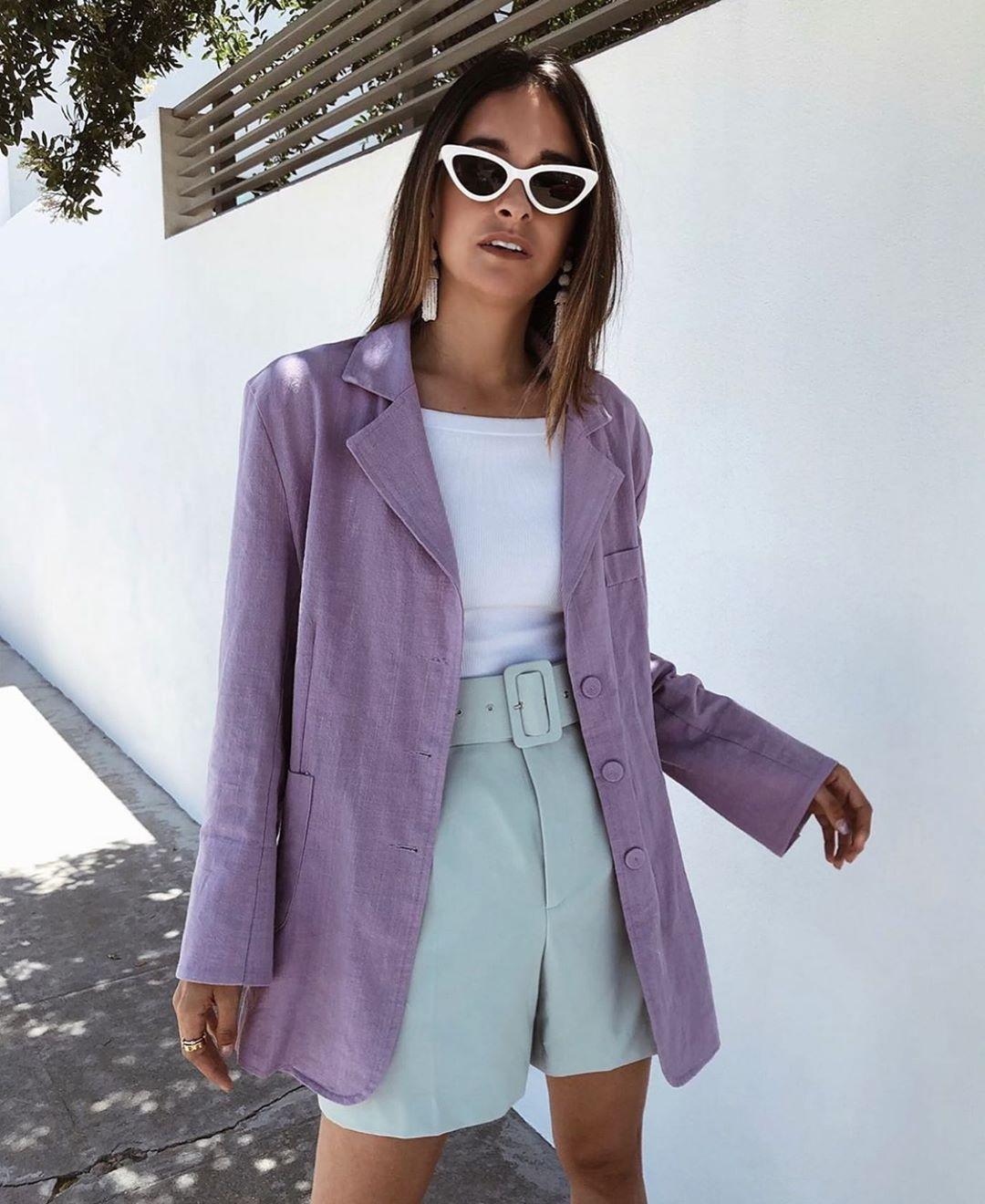 short à ceinture revêtue de Zara sur zara.mania