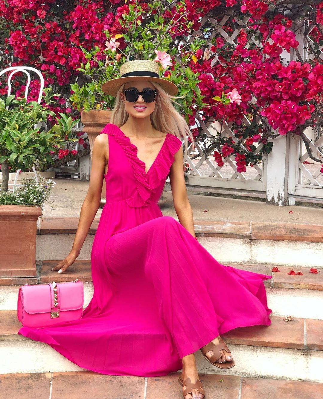 pleated dress de Zara sur _reginamch