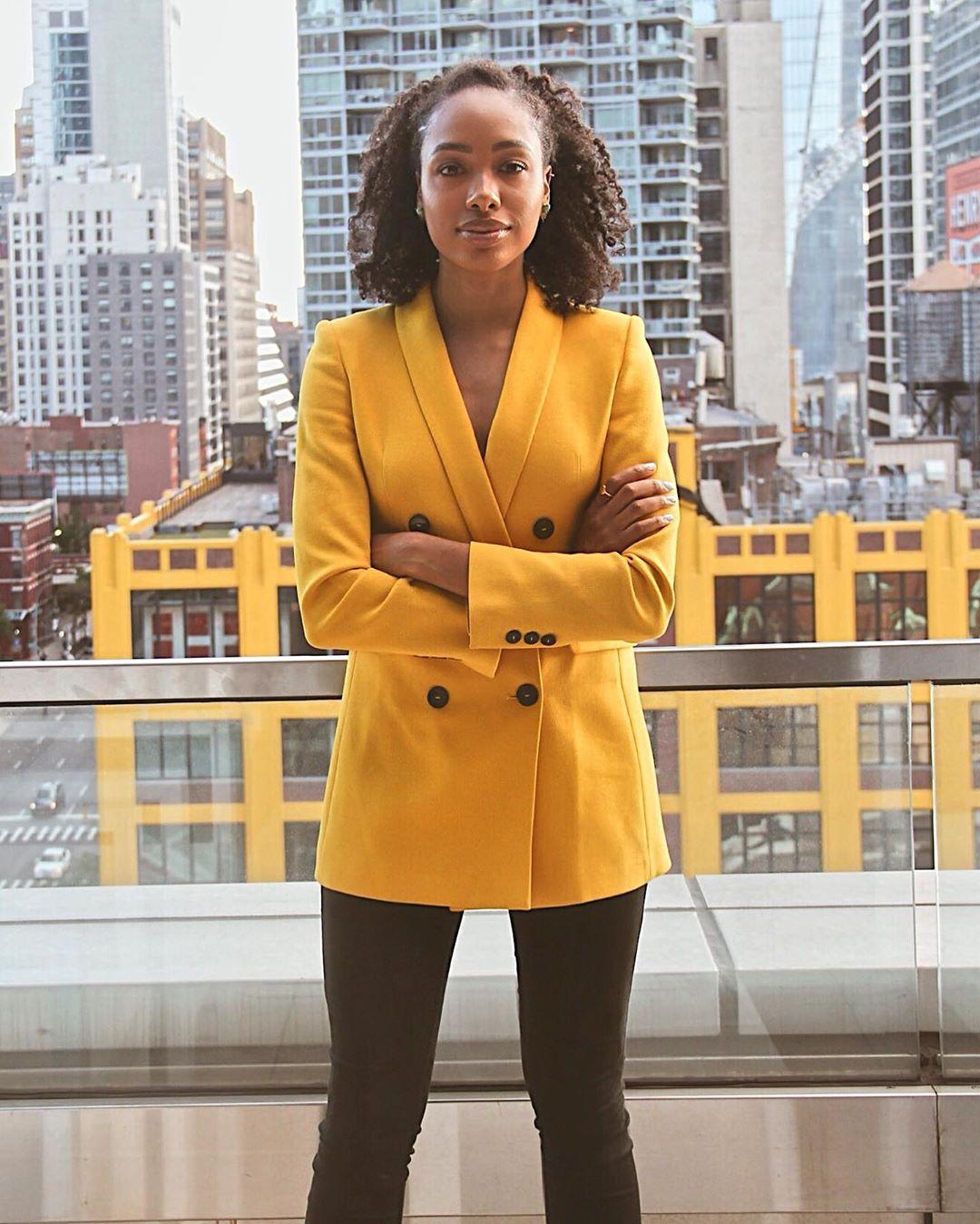 crossover breasted jacket de Zara sur heylifestylee