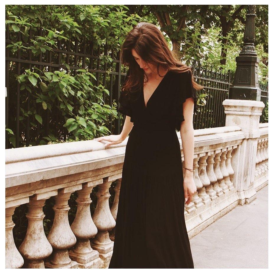 robe noire eclypse de Les Bourgeoises sur goa_paris