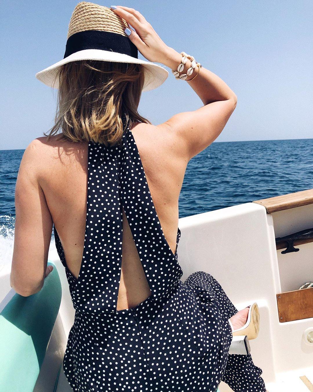 polka dot jump de Zara sur delfinashopping
