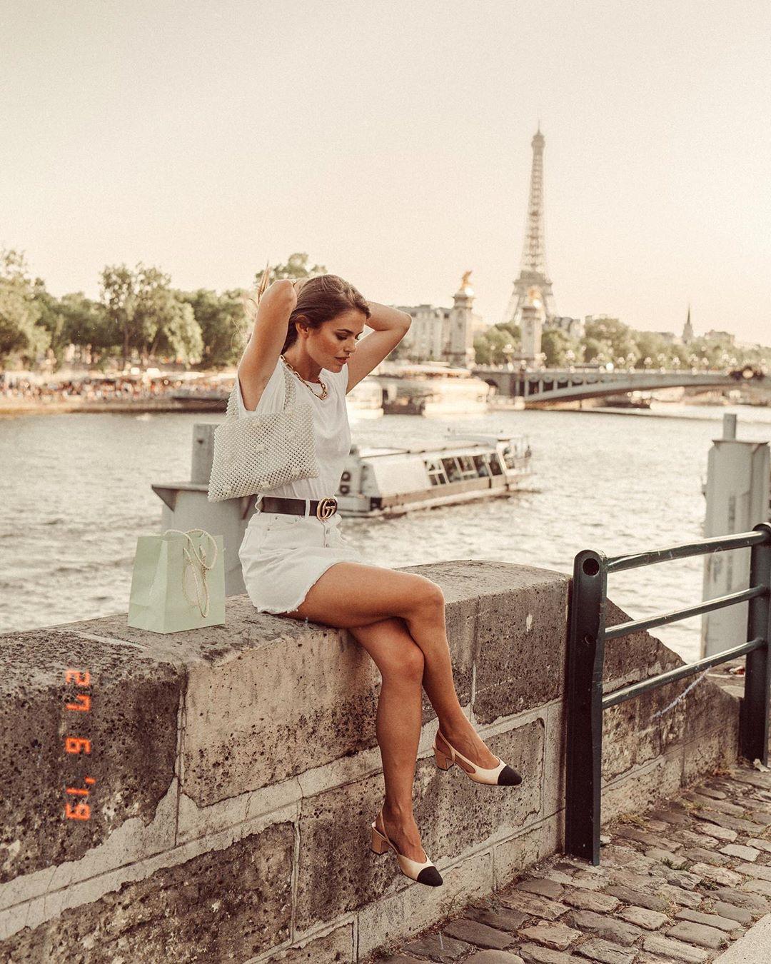 skirts zw premium white de Zara sur jessiekass