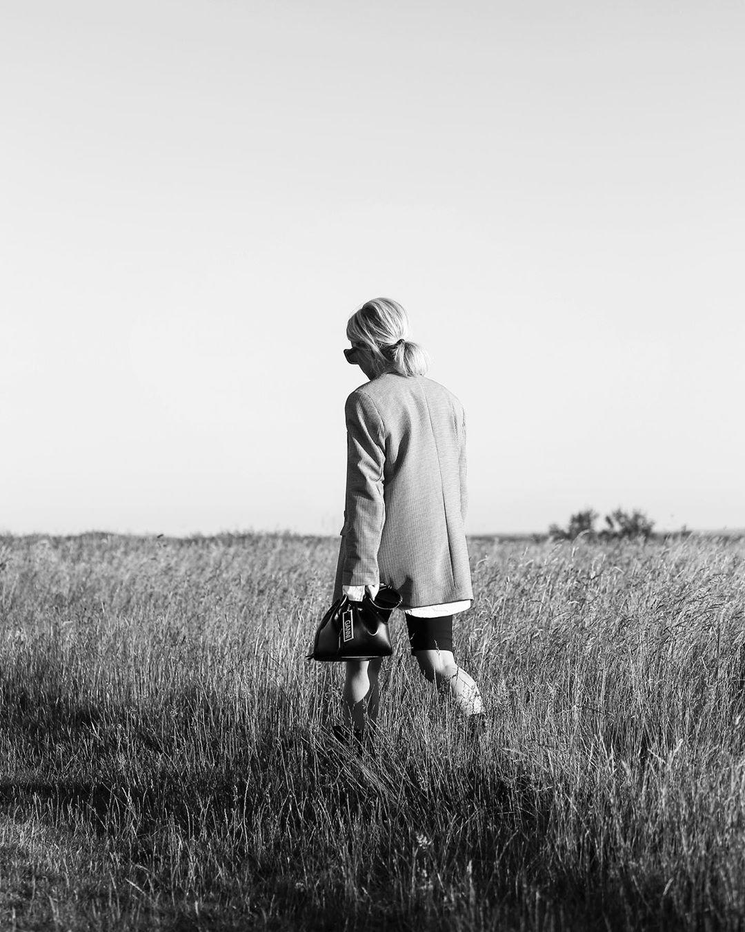 plaid jacket de Zara sur girl_from_town