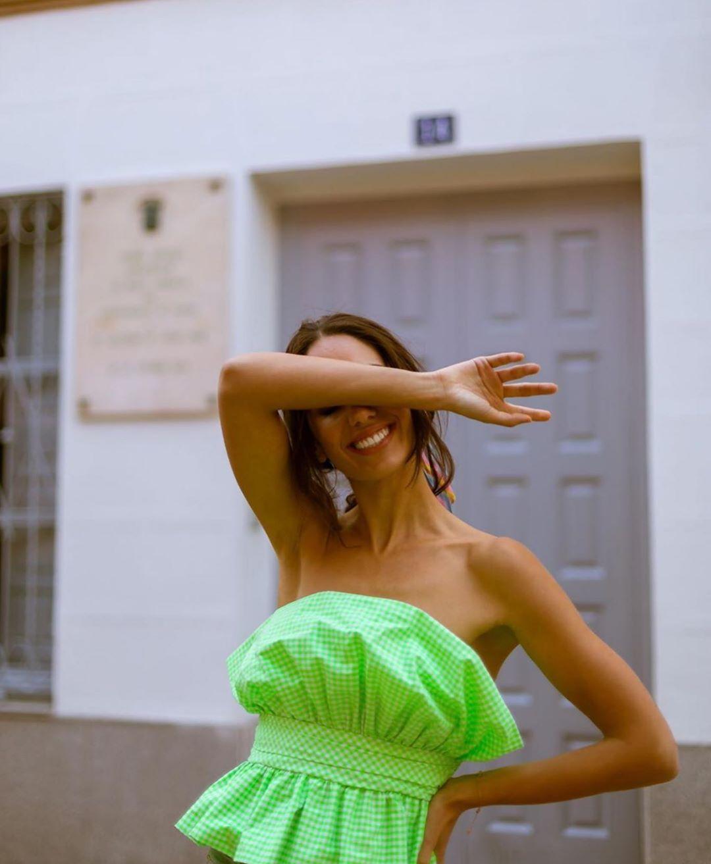 top drapé édition limitée de Zara sur zara.outfits