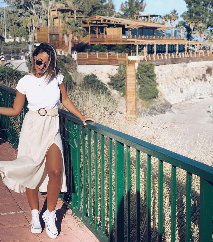 ceinture à boucle effet écaille de Zara sur zara.outfits