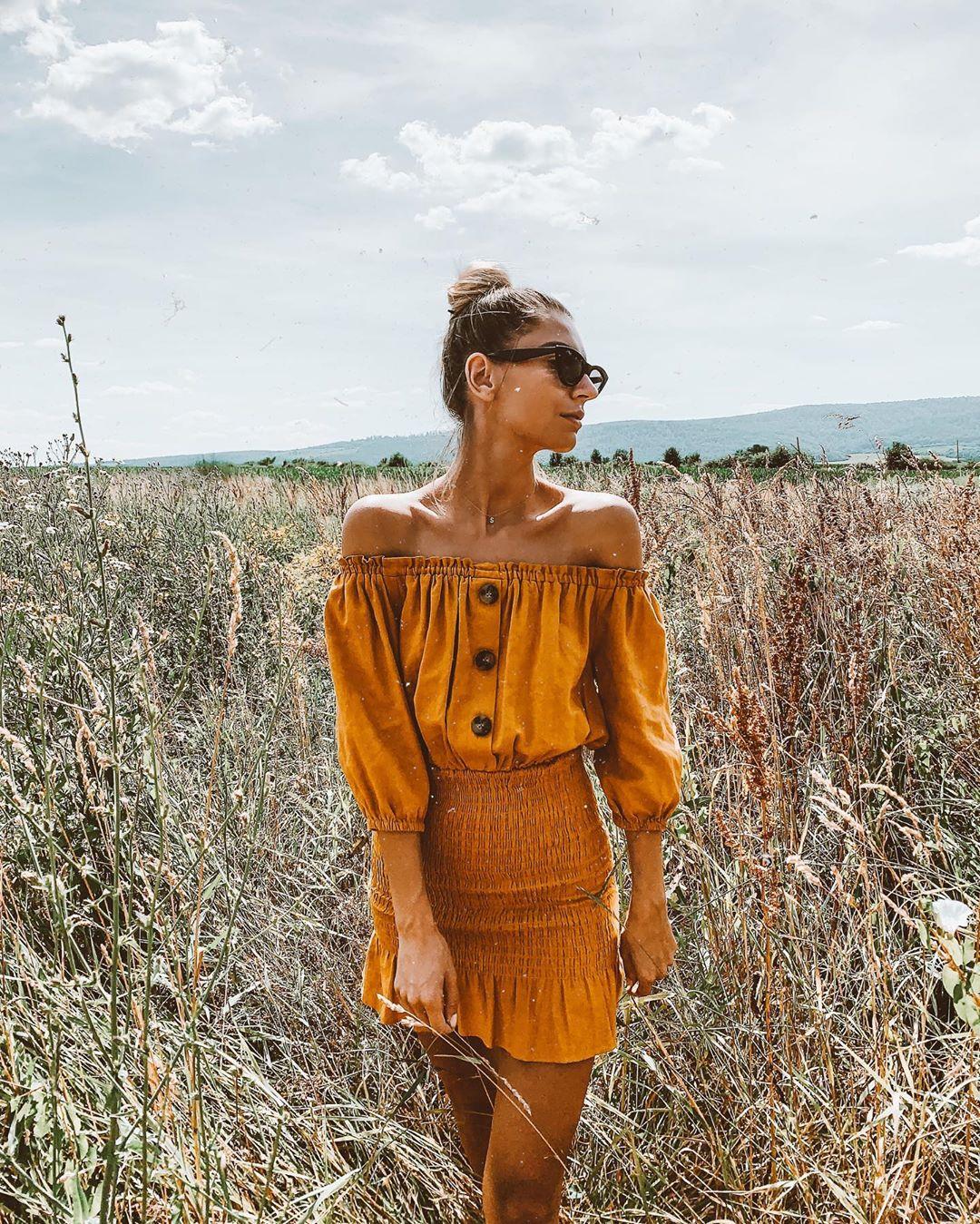 raw effect dress de Zara sur sonasulek