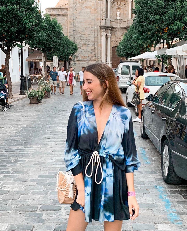 blouse tie & dye de Zara sur zara.outfits